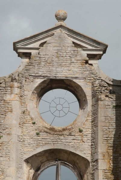 Kirby Hall photo, A fanciful gable on the entrance gatehouse