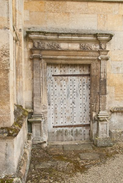 Kirby Hall photo, A quiet doorway in the great hall