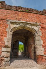 The gatehouse archway
