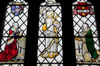 Kirby Underdale, All Saints Church, Viscount Halifax window