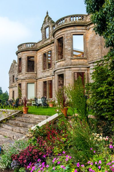 Kirklinton Hall photo, Another view from the terrace garden