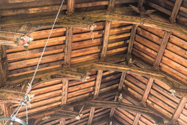 Knapton photo, The angel roof