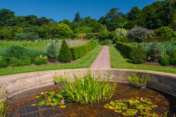 Knightshayes Court photo, The Victorian kitchen garden