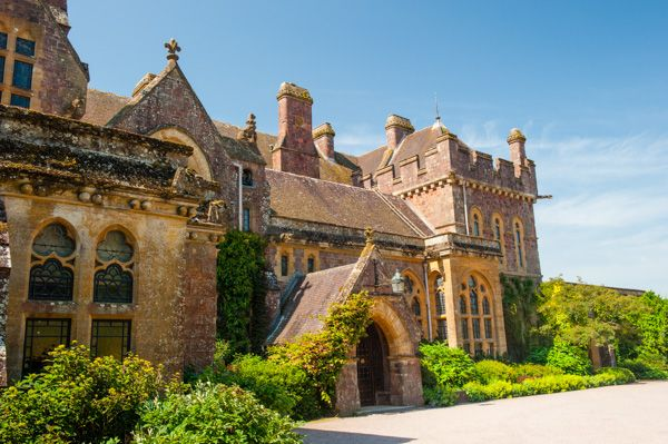 Knightshayes Court photo, The house entrance