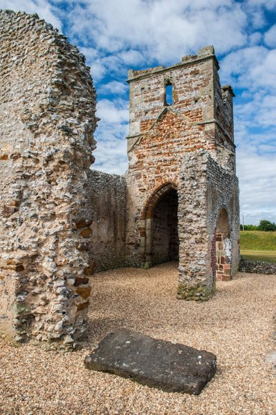 Knowlton Church and Earthworks photo, The church tower