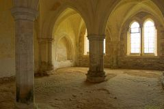 Lacock Abbey, The medieval undercroft