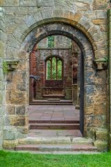 Lanercost Priory, Doorway to the presbytery
