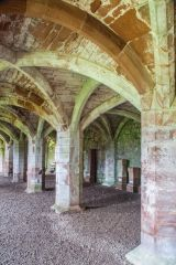 Lanercost Priory, The 13th century refectory undercroft