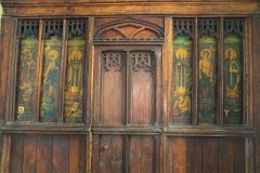 Langford, St Matthew, The medieval screen