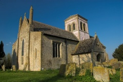 Langford Saxon church, Oxfordshire
