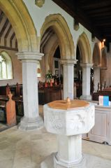 Font and nave