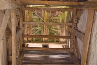 Langley Chapel, Bellcote rafters