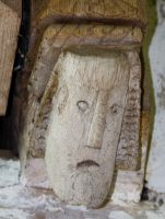 Langley Chapel, Corbel head