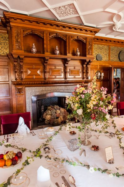 Lanhydrock photo, The formal dining room