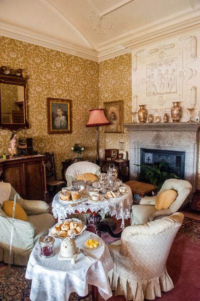 Lanhydrock photo, Her Ladyship's drawing room