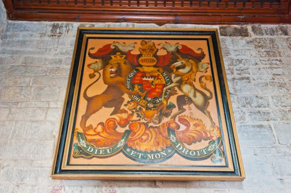 Lapworth, St Mary's Church photo, Royal coat of arms