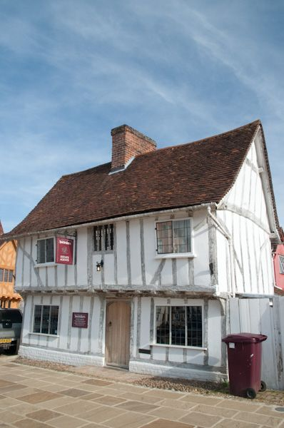 Lavenham photo, Timber framed building, market place