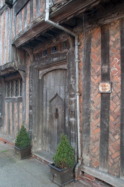 Lavenham photo, De Vere House timber-framed exterior