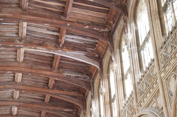 Lavenham, St Peter and St Paul's Church photo, Clerestory roof
