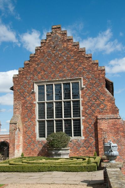 Layer Marney Tower photo, The long gallery and knot garden