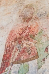 St Christopher wall painting, Layer Marney