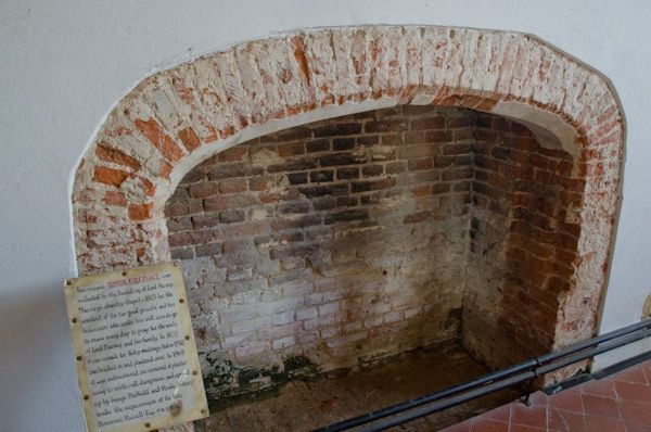 Layer Marney, St Mary's Church photo, 16th century fireplace in the Marney chapel