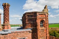 Tudor chimney and turret
