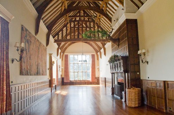 Layer Marney Tower photo, Long gallery interior