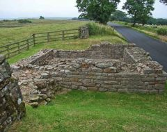 Leahill Turret and Piper Sike Turret (Hadrian's Wall)