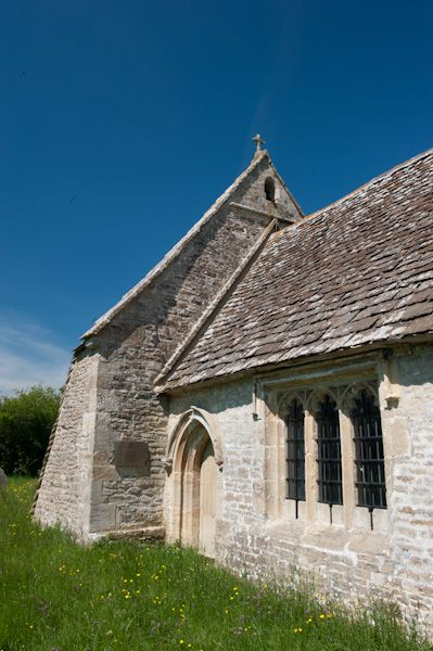 Leigh, All Saints Church photo, Exterior of the chancel
