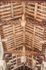 Leigh on Mendip, St Giles Church, 15th century nave roof