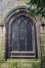 The east chapel window