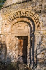 The Romanesque west doorway