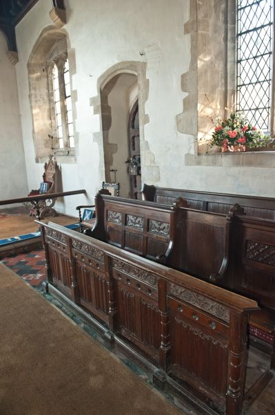 Letcombe Regis, St Andrew's Church photo, The choir