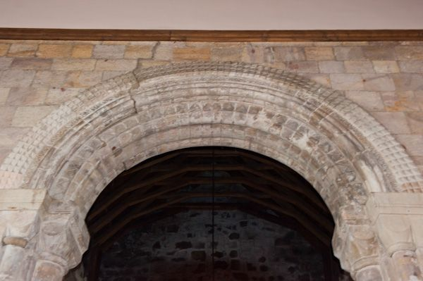 St Athernase Church photo, Chancel arch