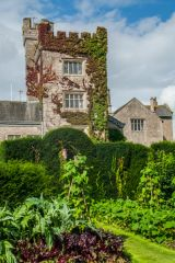 Levens Hall, The crenellated pele tower