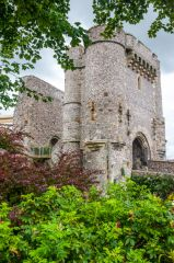 Lewes Castle and Barbican House Museum, The Norman gatehouse