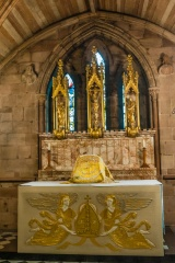 St Chad's Head Chapel altar