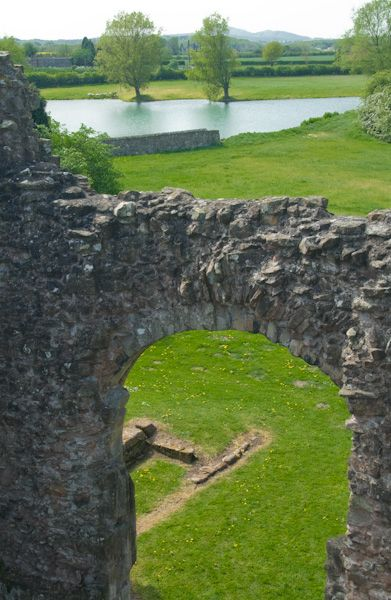 Lilleshall Abbey photo, View from gallery