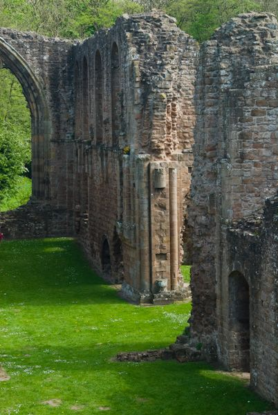 Lilleshall Abbey photo, Abbey ruins