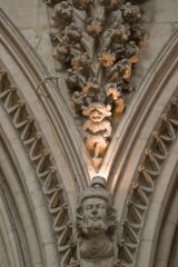 Lincoln Cathedral, Another view of the Lincoln Imp