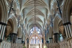 Lincoln Cathedral, The choir vaulting