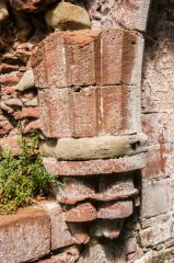 Remains of vaulting stonework