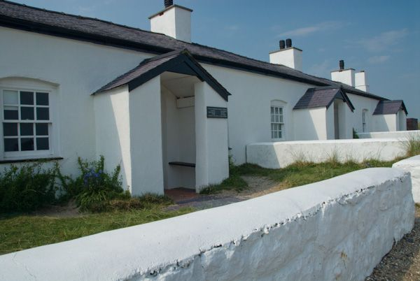 Llanddwyn Island photo, Restored pilots cottages