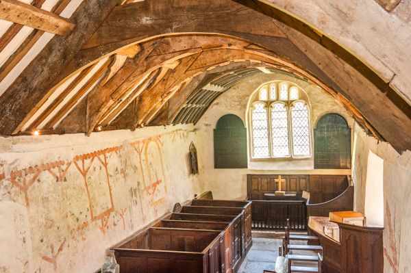 Llangar Church photo, The view from the gallery