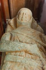 Llangennith, St Ceyndd Church, The 'Dolly Mare' effigy