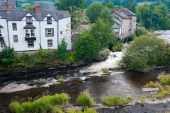 Llangollen and its river