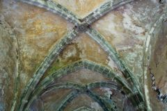 Llanthony Priory , 13th century groined vaulting