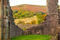 Llanthony Priory , The priory church ruins
