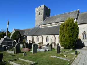 Llantwit Major, St Illtud's Church & Crosses